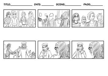 just a older storyboard by ChicoTheCartoonist