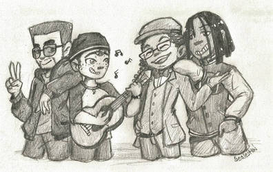 The Bois by ChicoTheCartoonist