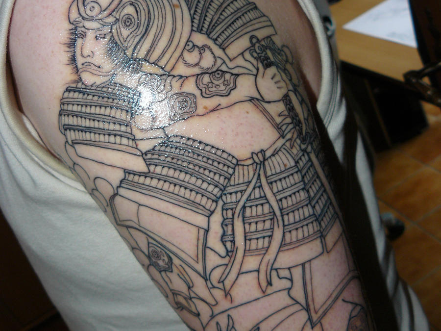 Samurai Tattoo1 by ~Horimono