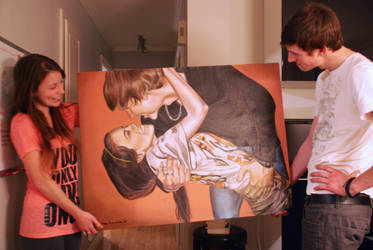 the Love painting by marie-catss