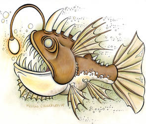 Angler Fish by marie-catss
