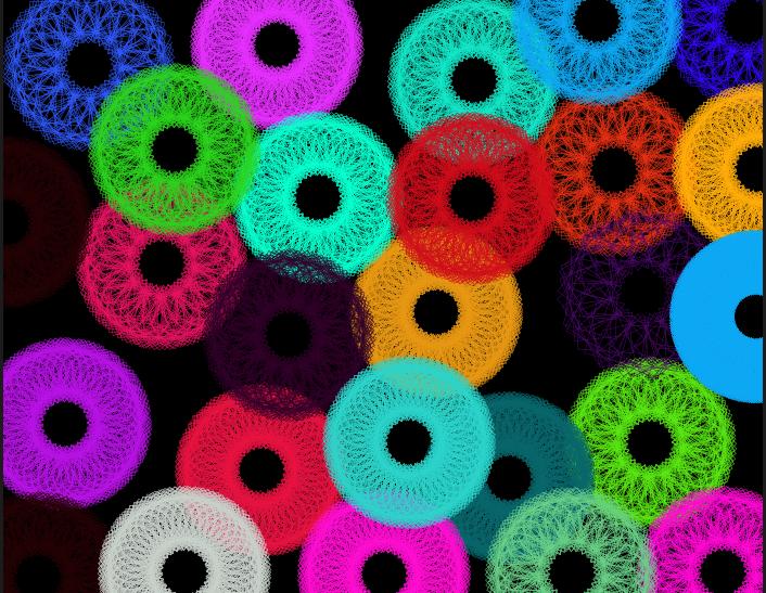Rainbow Circles Wallpaper Rainbow Circle Vortex