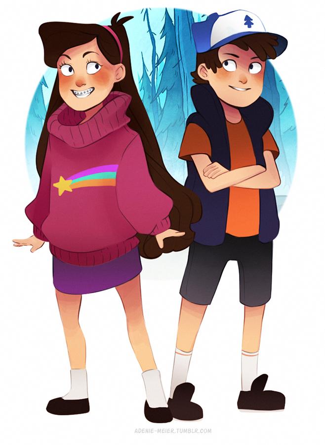 Pines Twins by Adenie