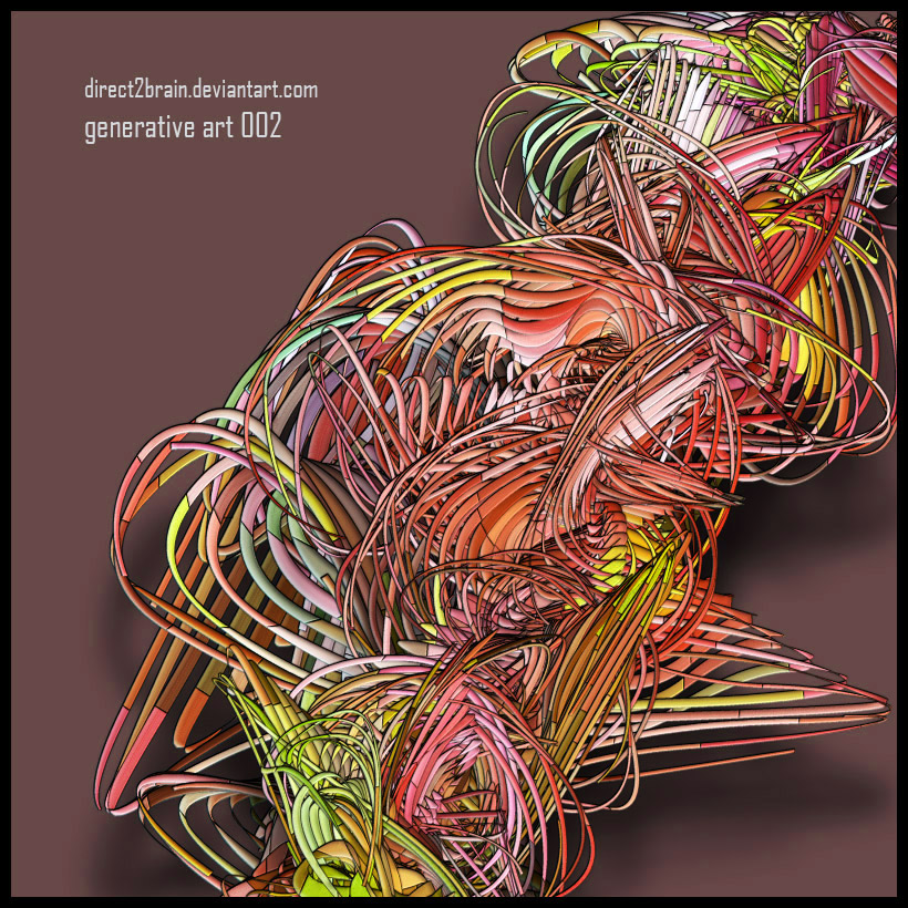 Generative Art 002 by Direct2Brain