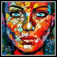 Lines Portrait 3