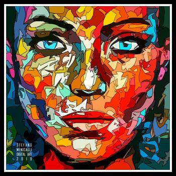 Lines Portrait 3 by Direct2Brain