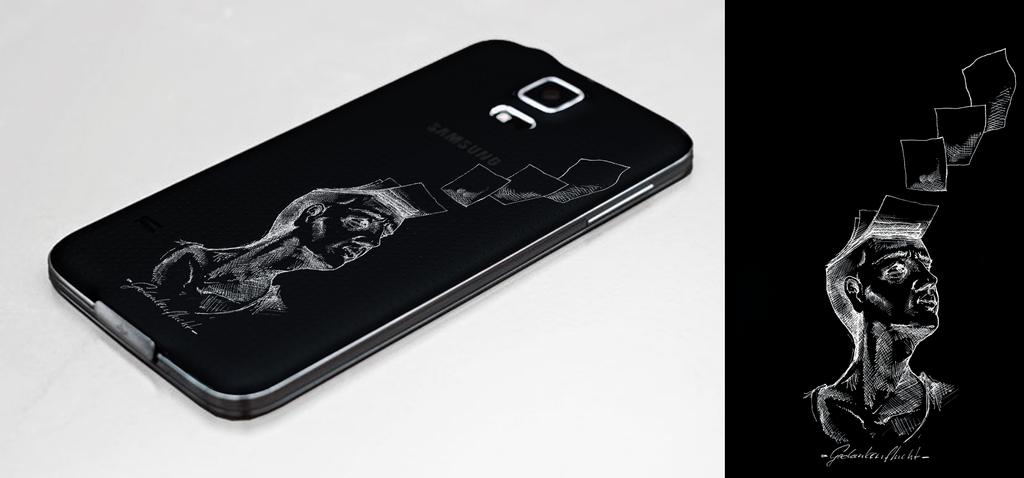 Flight of Thoughts - Phone Case Design by Der-Fisch-lebt-noch