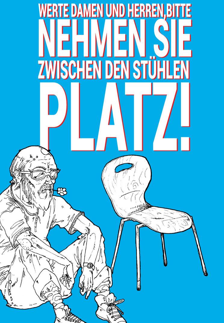 Bitte Nehmen Sie Platz by HerrGoldberg