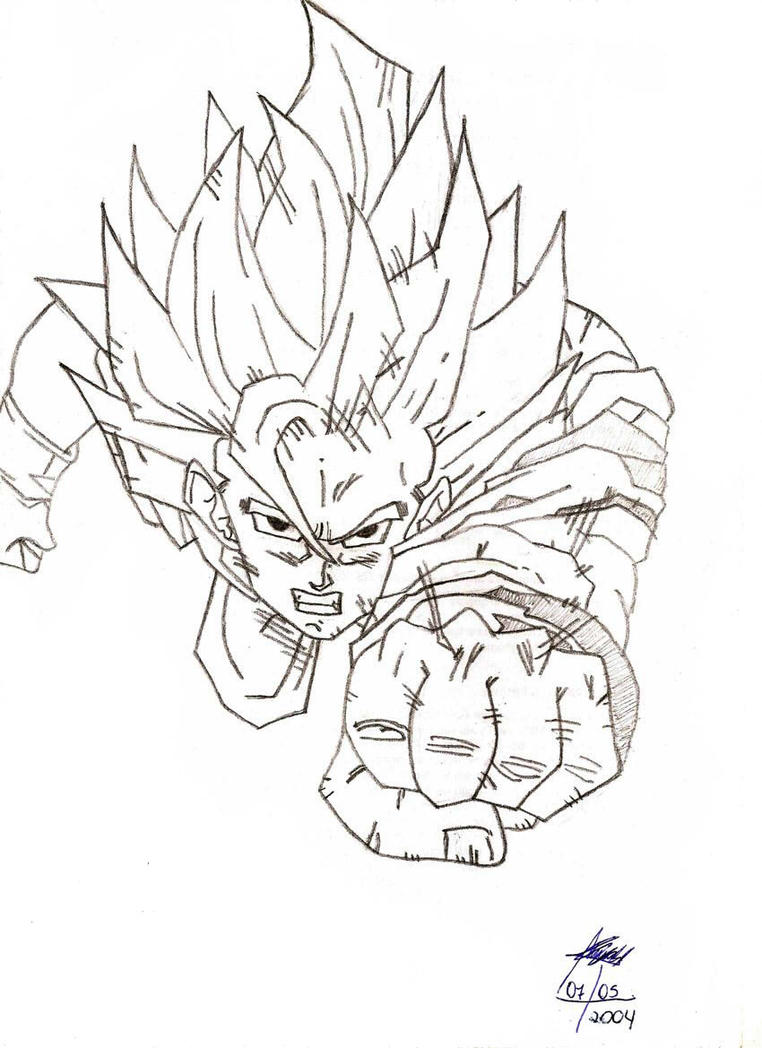 Goku - Dragon Ball Z by Lanyss