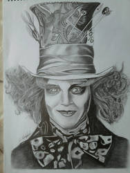 The Mad Hatter by erdii