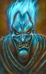 Portrait of Hades by allengeneta