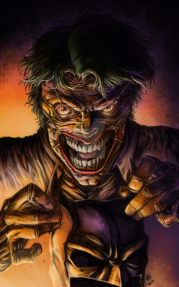 New 52 Joker in Color by allengeneta on DeviantArtNew 52 Joker Wallpaper