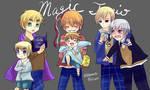 Magic Trio + their munchkins