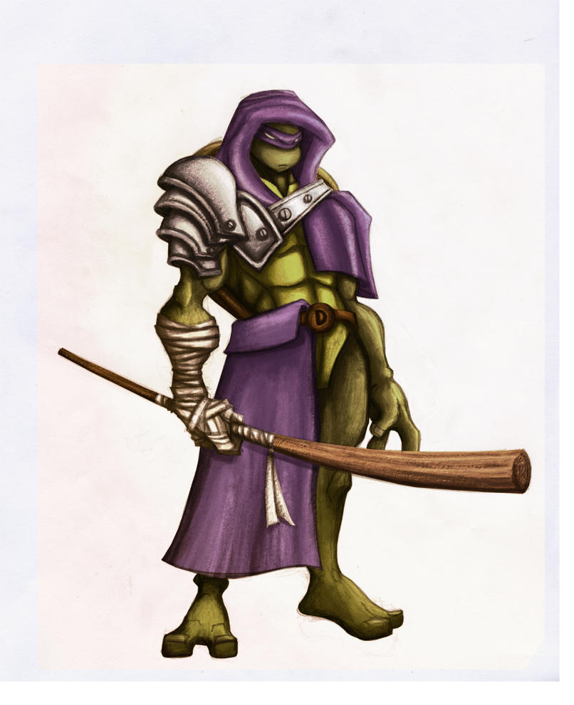 fan art donatello by elf-x