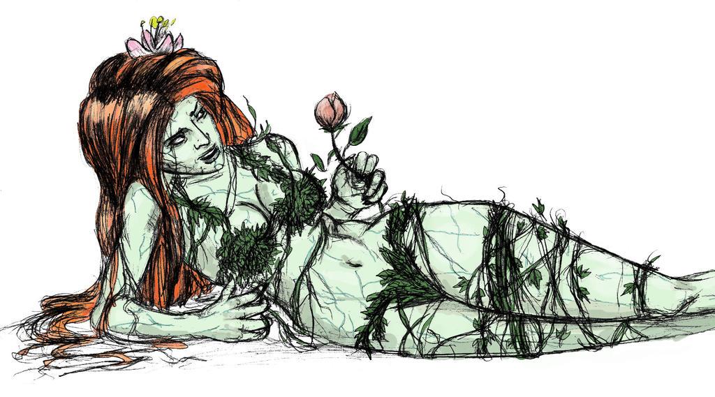 Poison Ivy by gurgledog