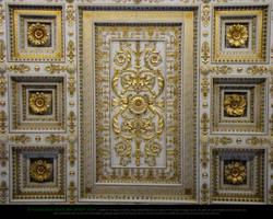 Ceiling Decoration no. 1 by Esmeralda-stock