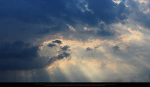 Sky and Sun Rays 2