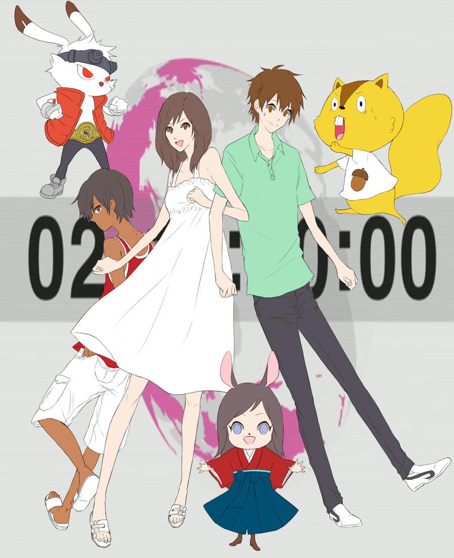WORLDWIDE LOVE WIP by tsunbaki