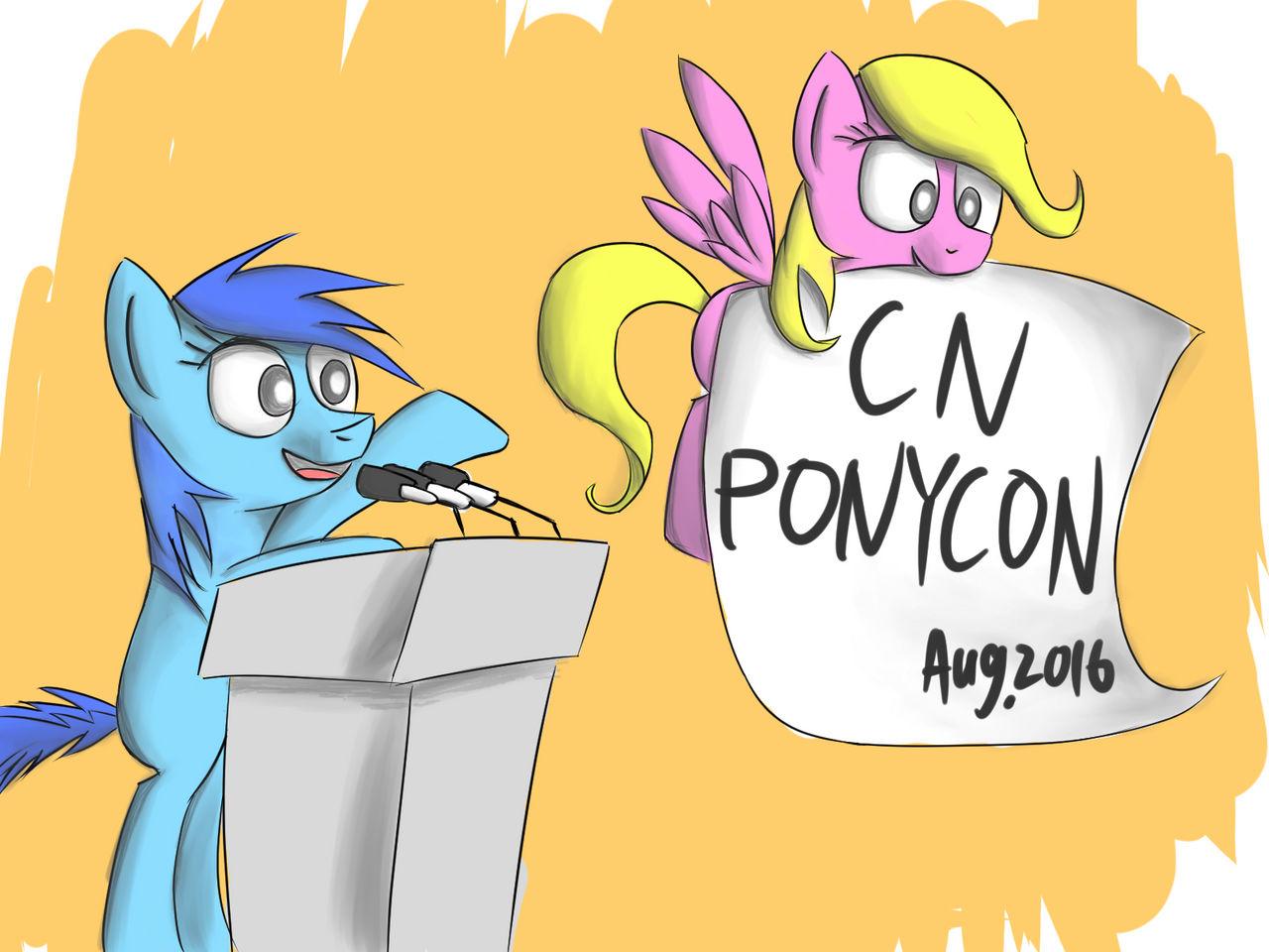 CNPonyCon!(color)