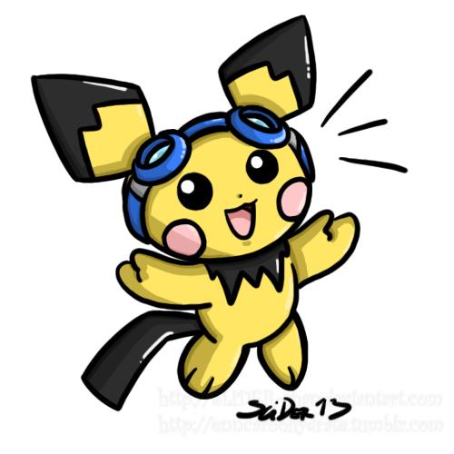 Dec. POKEDDEXY Challenge 20: Fav Electric Rodent by SLiDER-chan