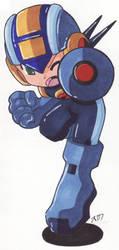 Rockman Rockman.EXE by SLiDER-chan
