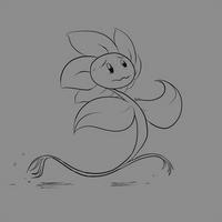 *Flowey ran away.