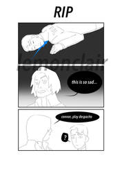 [DBH] RIP by Lemonclair