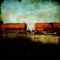Red Train by slatkatajna
