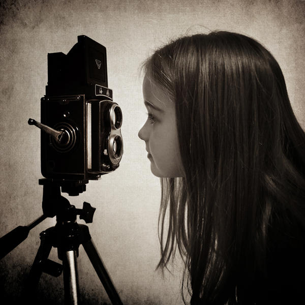 Curious girl by slatkatajna