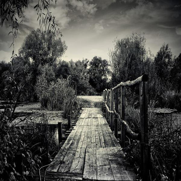Little old bridge by slatkatajna