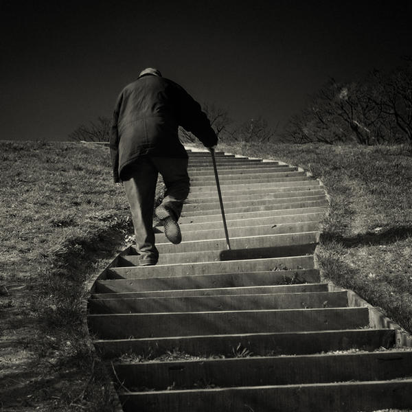 Life stairs by slatkatajna
