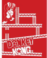 ARP- Donkey Kong Poster WIP by Bobman32x
