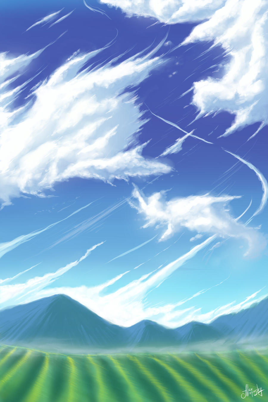 Clouds by alexmakovsky