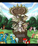 MLP Fim Statue of Friendship ver_2