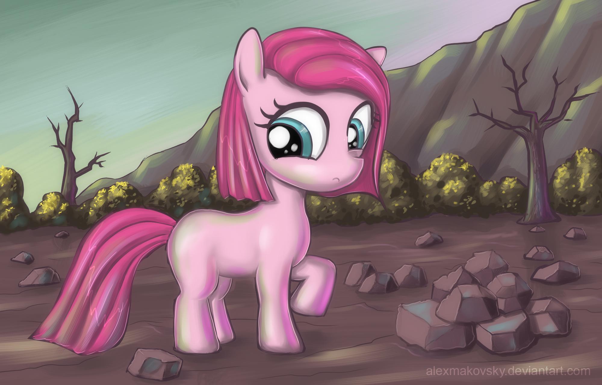 Young Pinkie Pie by alexmakovsky