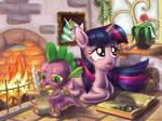 Spike and Twilight