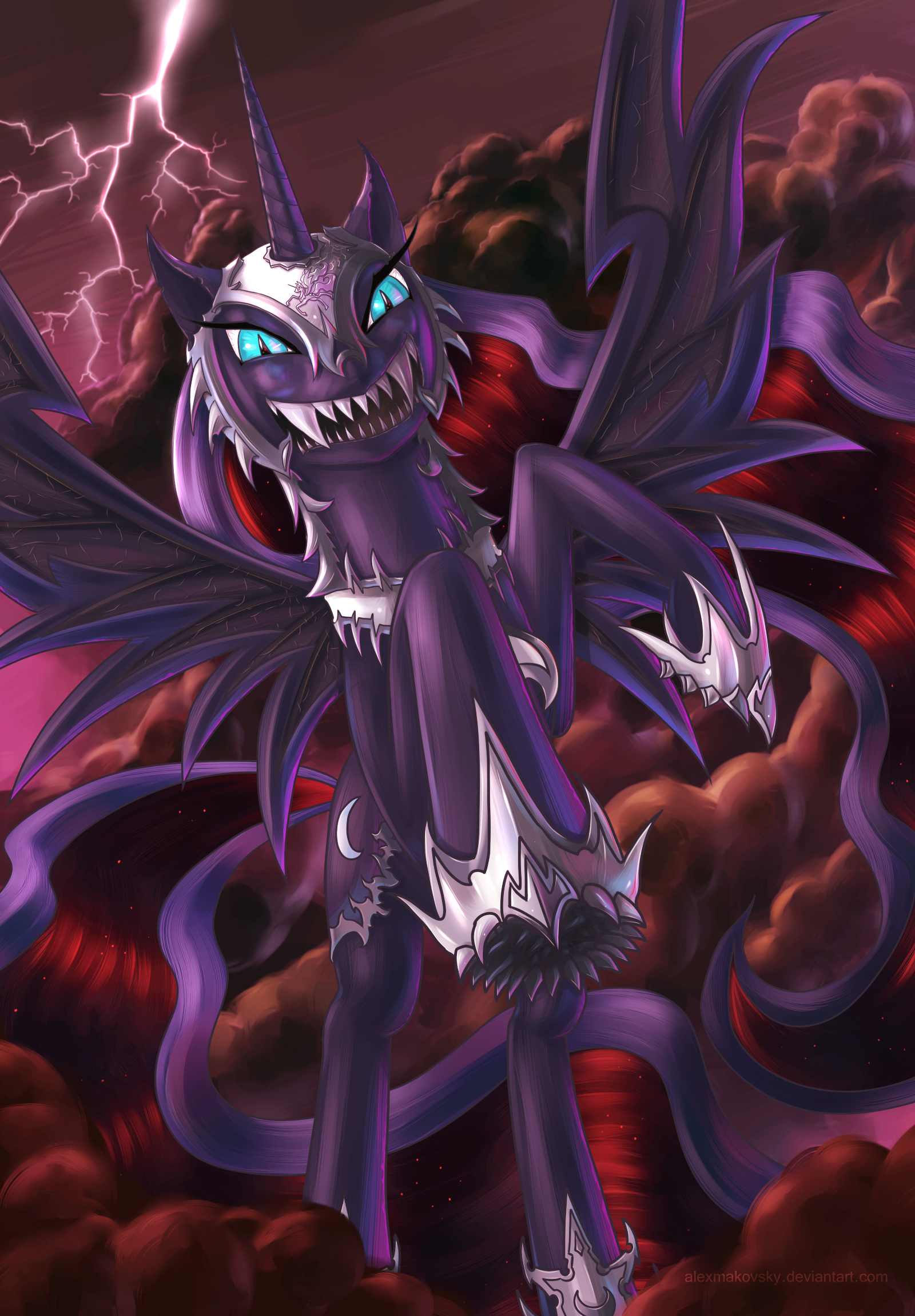 nightmare moon by alexmakovsky on nightmare moon by alexmakovsky nightmare moon by alexmakovsky