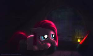 Little Pinkie Pie and Rain