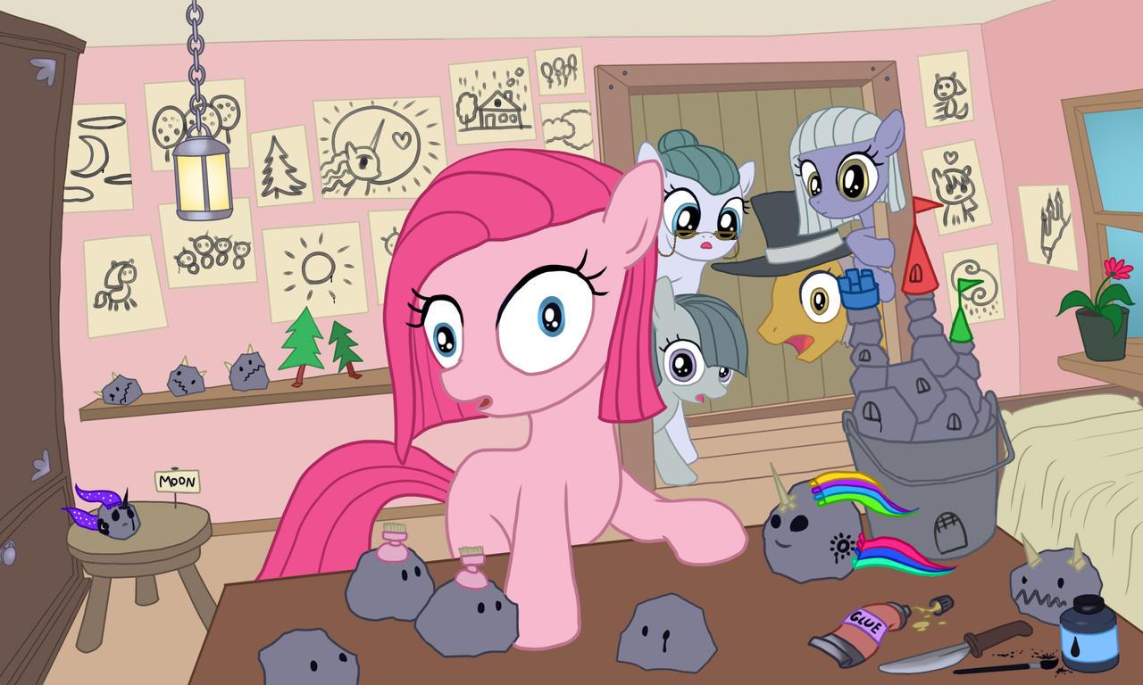 Pinkie Pie's toys