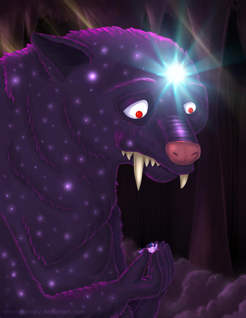 Ursa Major and Twilight Sparkle by alexmakovsky