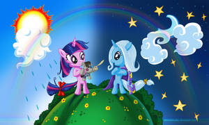 Twilight Sparkle n Trixie
