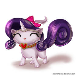 Opal Rarity s Cat by alexmakovsky