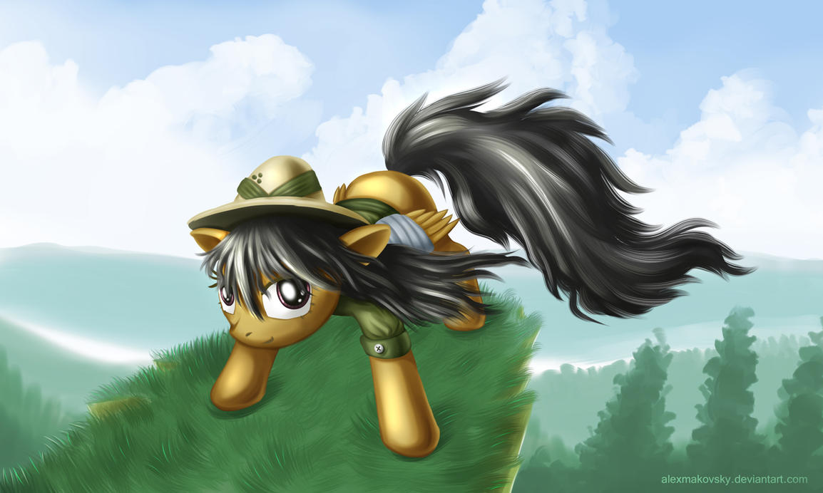 Daring Do by alexmakovsky