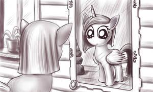 Pinkie Pie and Magic Mirror