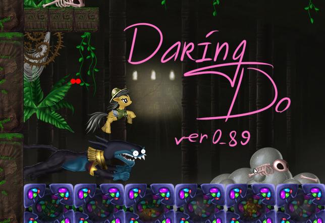 Daring Do the Flash Game ver 0_81 alpha by alexmakovsky