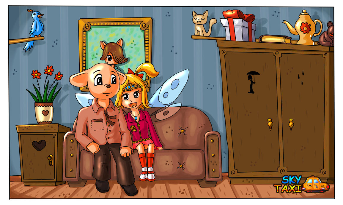 Mitch N Fairy by alexmakovsky