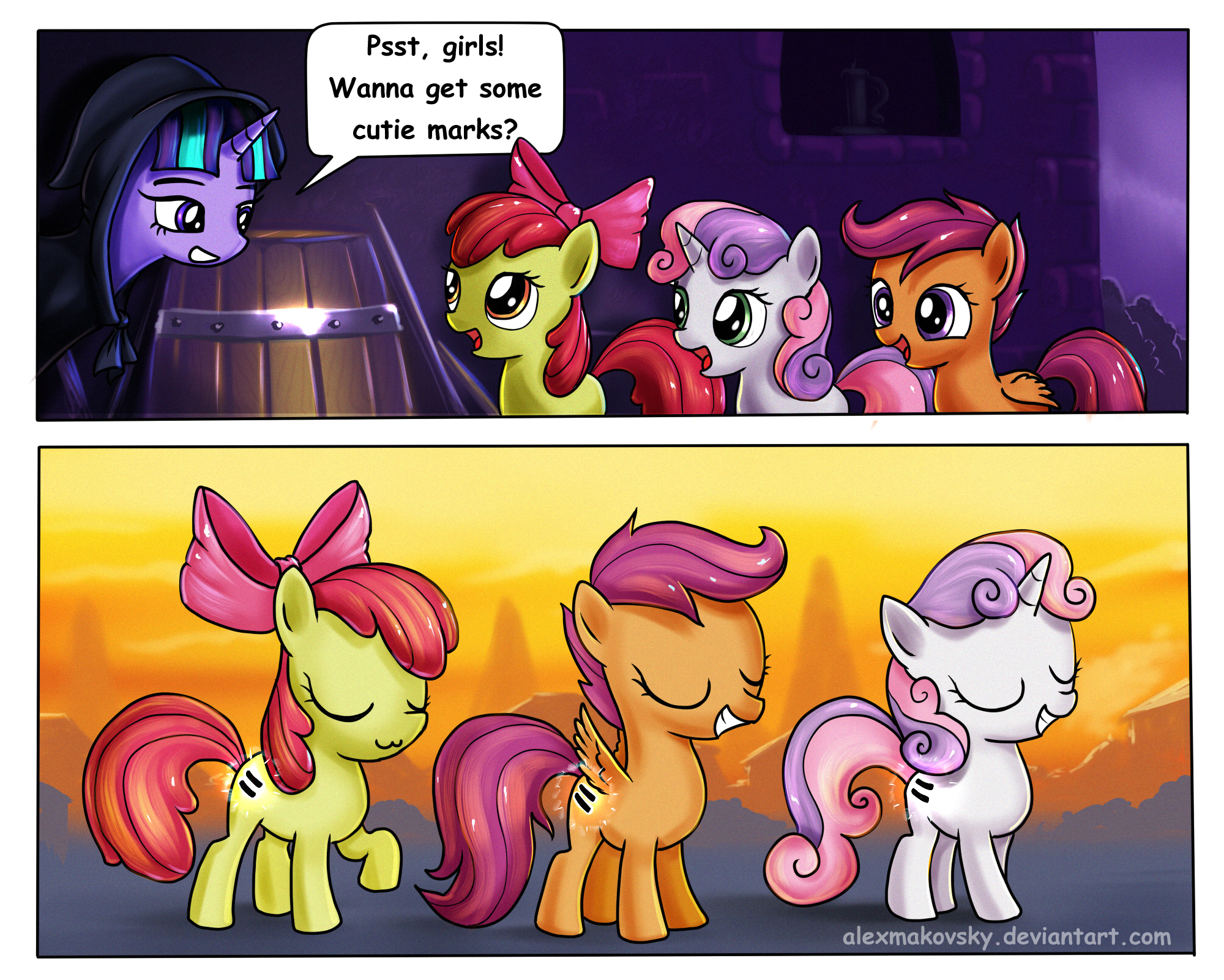 New cutie marks for crusaders