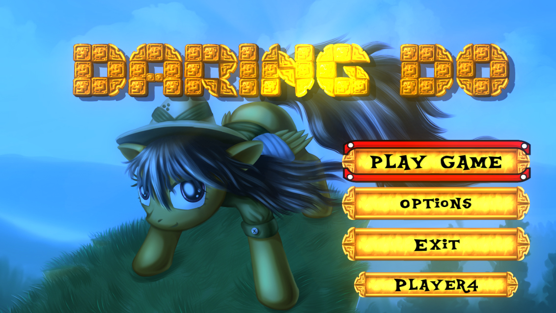 HUD and  Interface Design for Daring Do by alexmakovsky