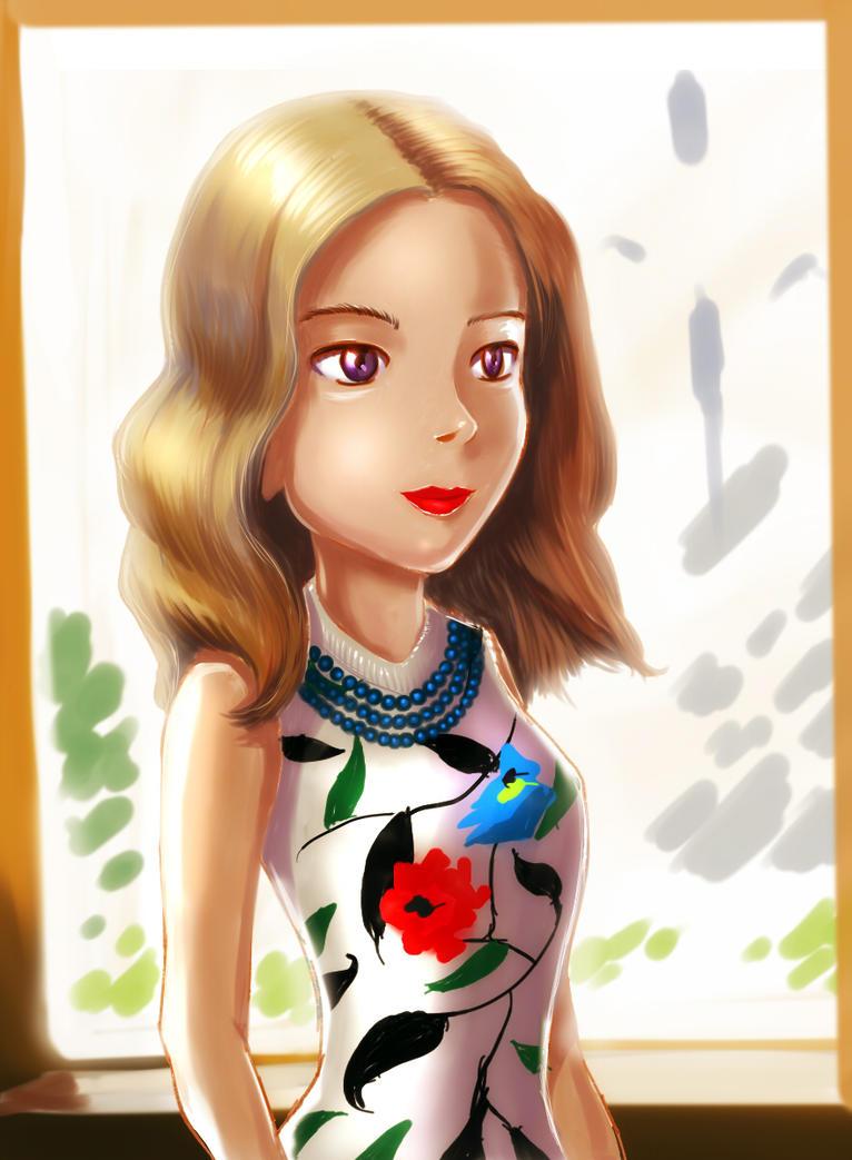 Alina just an image by alexmakovsky
