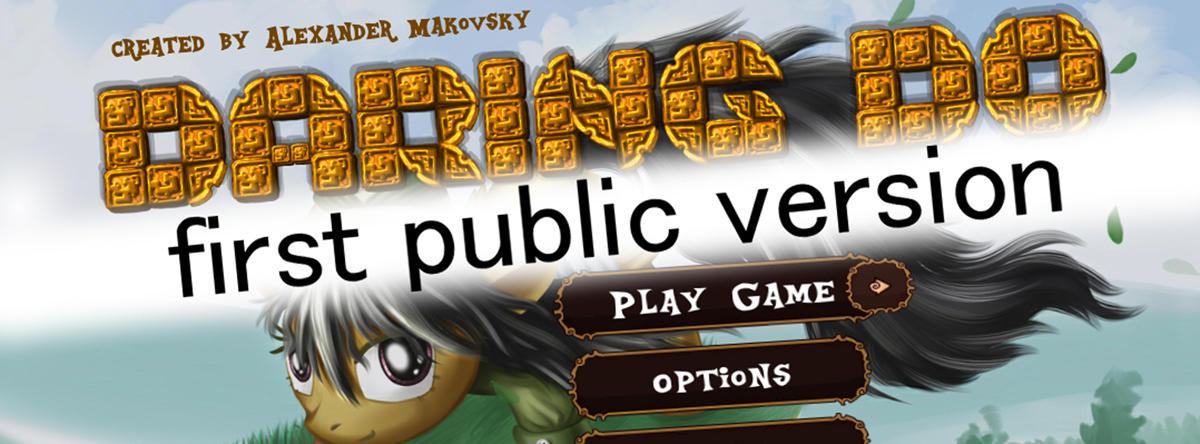 First Public Version
